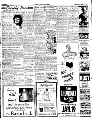 The Courier News from Blytheville, Arkansas on January 9, 1952 · Page 4