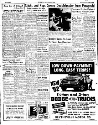 The Courier News from Blytheville, Arkansas on January 9, 1952 · Page 8