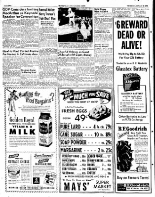 The Courier News from Blytheville, Arkansas on January 10, 1952 · Page 2