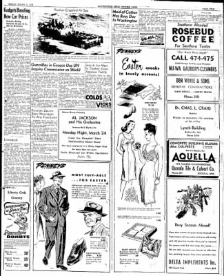 The Courier News from Blytheville, Arkansas on March 21, 1947 · Page 5