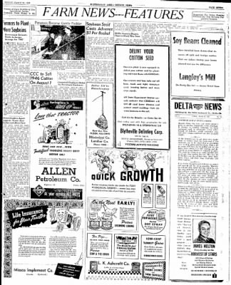 The Courier News from Blytheville, Arkansas on March 21, 1947 · Page 7