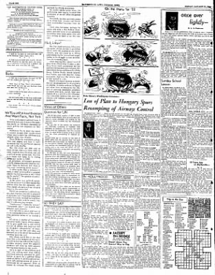 The Courier News from Blytheville, Arkansas on January 11, 1952 · Page 6