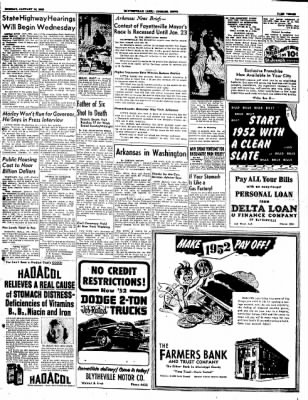 The Courier News from Blytheville, Arkansas on January 14, 1952 · Page 3
