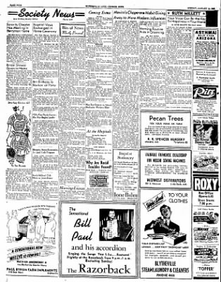 The Courier News from Blytheville, Arkansas on January 14, 1952 · Page 4