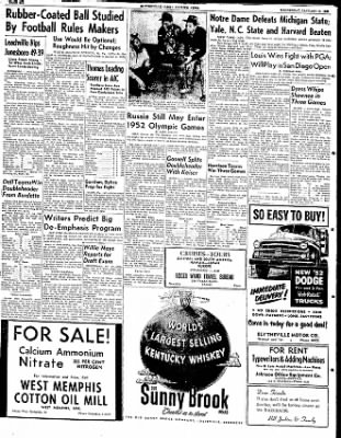 The Courier News from Blytheville, Arkansas on January 16, 1952 · Page 6
