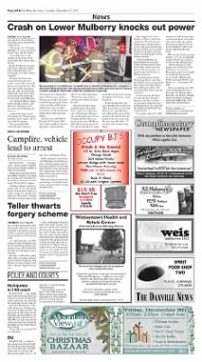The Danville News from Danville, Pennsylvania on November 22