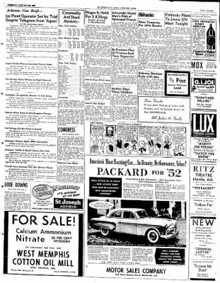 The Courier News from Blytheville, Arkansas on January 22, 1952 · Page 3