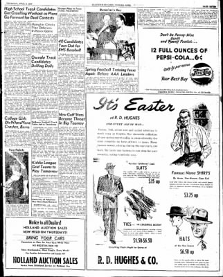 The Courier News from Blytheville, Arkansas on April 3, 1947 · Page 7