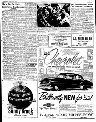 The Courier News from Blytheville, Arkansas on January 23, 1952 · Page 9