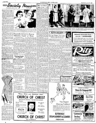 The Courier News from Blytheville, Arkansas on July 21, 1951 · Page 2