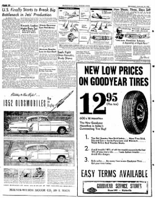 The Courier News from Blytheville, Arkansas on January 24, 1952 · Page 6