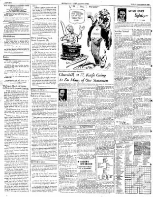 The Courier News from Blytheville, Arkansas on January 25, 1952 · Page 6