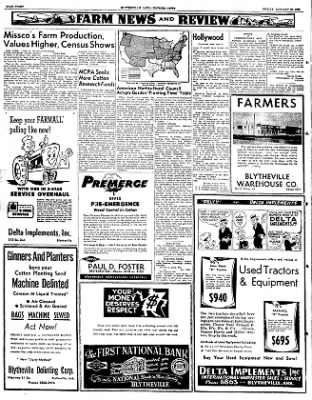 The Courier News from Blytheville, Arkansas on January 25, 1952 · Page 8