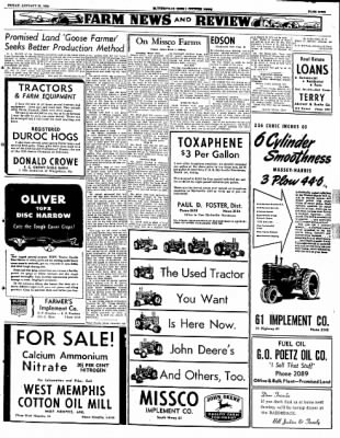 The Courier News from Blytheville, Arkansas on January 25, 1952 · Page 9