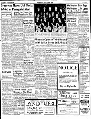 The Courier News from Blytheville, Arkansas on January 26, 1952 · Page 5