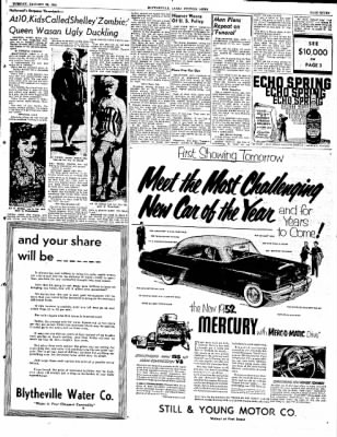 The Courier News from Blytheville, Arkansas on January 29, 1952 · Page 7