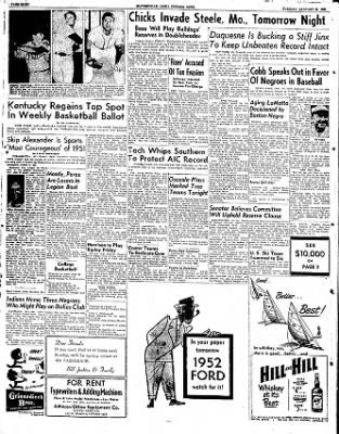 The Courier News from Blytheville, Arkansas on January 29, 1952 · Page 8