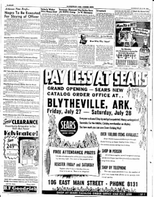 The Courier News from Blytheville, Arkansas on July 26, 1951 · Page 6
