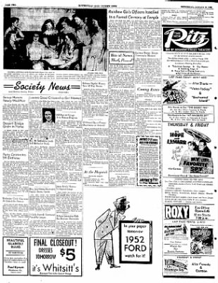 The Courier News from Blytheville, Arkansas on January 30, 1952 · Page 2