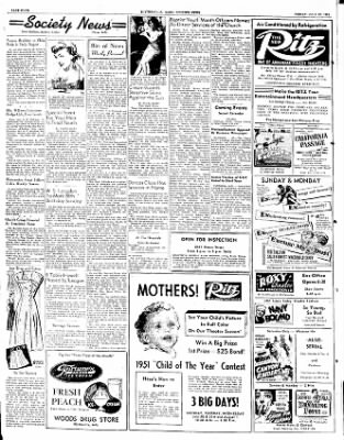 The Courier News from Blytheville, Arkansas on July 27, 1951 · Page 3