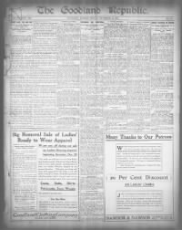Sample The Goodland Republic front page