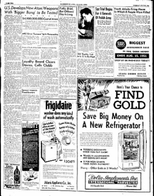 The Courier News from Blytheville, Arkansas on July 31, 1951 · Page 2