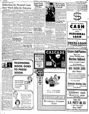 The Courier News from Blytheville, Arkansas on February 4, 1952 · Page 6