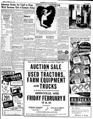 The Courier News from Blytheville, Arkansas on February 5, 1952 · Page 3