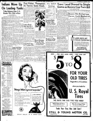 The Courier News from Blytheville, Arkansas on August 1, 1951 · Page 3