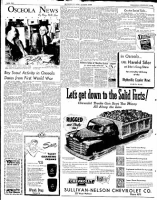 The Courier News from Blytheville, Arkansas on February 6, 1952 · Page 2