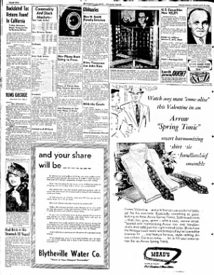 The Courier News from Blytheville, Arkansas on February 6, 1952 · Page 10