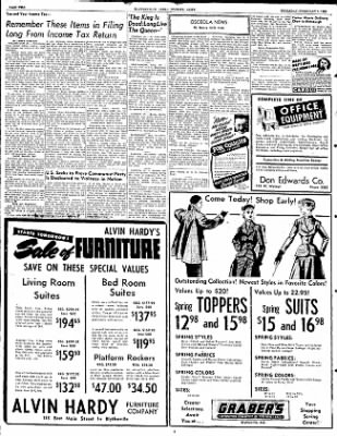 The Courier News from Blytheville, Arkansas on February 7, 1952 · Page 2