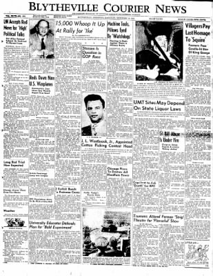 The Courier News from Blytheville, Arkansas on February 9, 1952 · Page 1