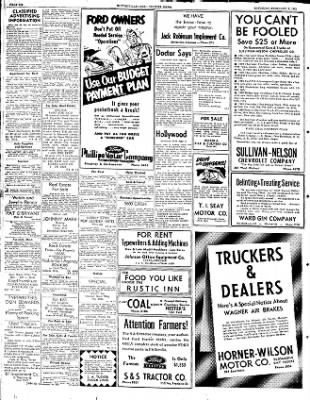 The Courier News from Blytheville, Arkansas on February 9, 1952 · Page 6