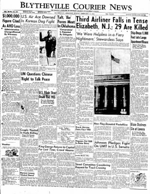 The Courier News from Blytheville, Arkansas on February 11, 1952 · Page 1