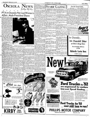 The Courier News from Blytheville, Arkansas on February 13, 1952 · Page 3