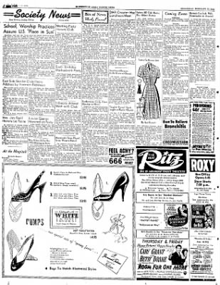 The Courier News from Blytheville, Arkansas on February 13, 1952 · Page 4