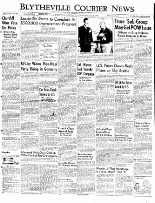 The Courier News from Blytheville, Arkansas on February 27, 1952 · Page 1