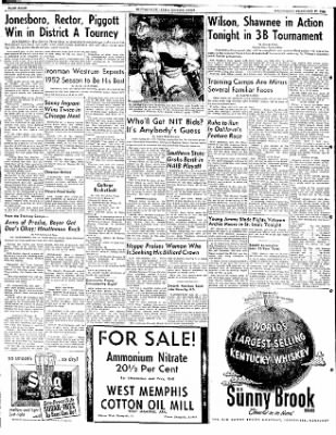 The Courier News from Blytheville, Arkansas on February 27, 1952 · Page 8