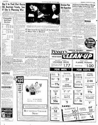 The Courier News from Blytheville, Arkansas on February 28, 1952 · Page 2