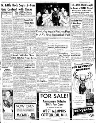 The Courier News from Blytheville, Arkansas on March 4, 1952 · Page 6