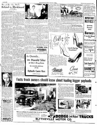 The Courier News from Blytheville, Arkansas on March 5, 1952 · Page 6