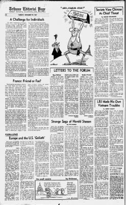 Oakland Tribune from Oakland, California on November 28, 1967 · 22
