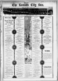 Sample Kansas City Sun front page