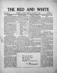Sample The Red and White front page