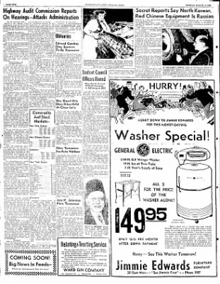 The Courier News from Blytheville, Arkansas on March 10, 1952 · Page 2