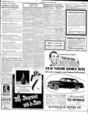 The Courier News from Blytheville, Arkansas on March 11, 1952 · Page 9
