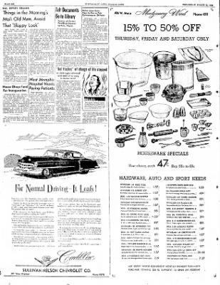 The Courier News from Blytheville, Arkansas on March 12, 1952 · Page 6