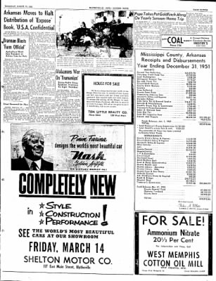 The Courier News from Blytheville, Arkansas on March 13, 1952 · Page 11
