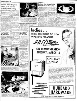 The Courier News from Blytheville, Arkansas on March 15, 1952 · Page 3